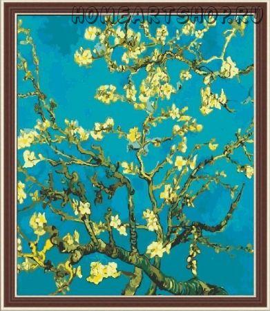 """Картина по номерам """"Ван Гог. Цветущий миндаль"""" 40х50"""