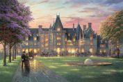 """Картина по номерам """"Вечер в замке"""""""
