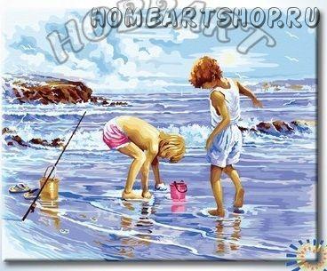 """Картина по номерам """"Морской улов"""""""