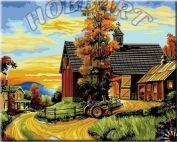 """Картина по номерам """"На ферме"""""""