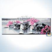 """Картина по номерам """"В розовой дымке"""""""