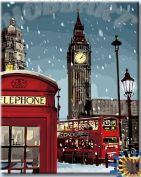 "Картина по номерам ""Зимний Лондон"""